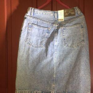 St. John's Bay Skirts - St. John's bay denim  med stone wash denim skirt